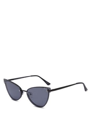 Quay Australia black Lady Luck Sunglasses 7A46FGL80C8DE6GS_1