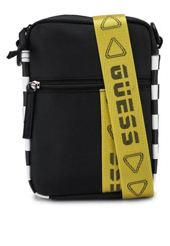 Guess black Speed Racer Crossbody Bag 591C7AC2E98D0EGS_1
