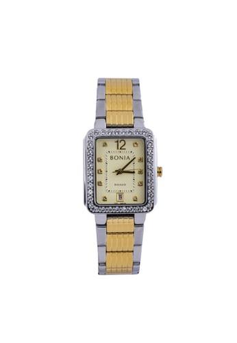 Bonia gold and silver Bonia - BR156-2125S - Jam Tangan Wanita - Silver Gold 289D0ACDFFFA8EGS_1