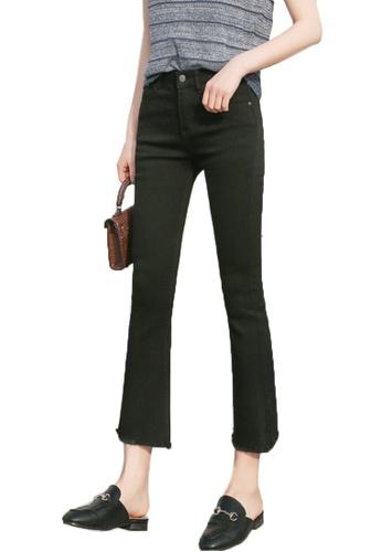Sunnydaysweety black New Fringe Flare Jeans CA032516BK 67886AA10F1048GS_1