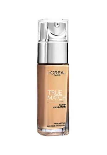 L'Oréal Paris beige L'Oreal Paris True Match Liquid Foundation SPF16 [#G5 Gold Cream] LO618BE31NSAMY_1