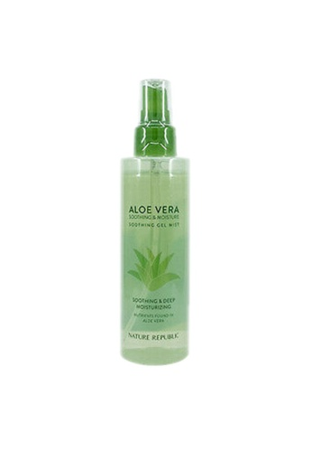 NATURE REPUBLIC Soothing & Moisture Aloe Vera 92% Soothing Gel Mist 150ml 5D2C0BE9190F04GS_1