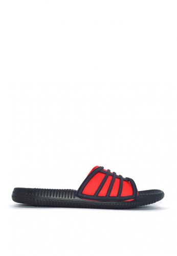ACCEL black and red Sdl Mati Sports Sandals BC22ESH3CFD248GS_1