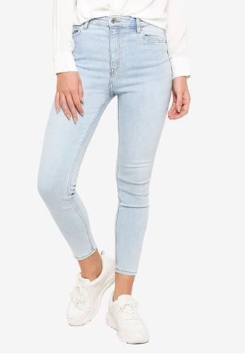 H&M blue Stretch Trousers 308B8AA66B80D4GS_1