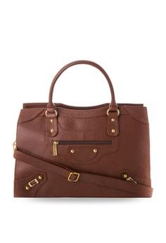 Carrie Stud Tote Bag