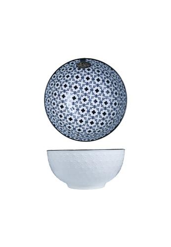 Table Matters multi Crisscross Blue - 6 inch Soup Bowl 1C074HLAA3A8F8GS_1