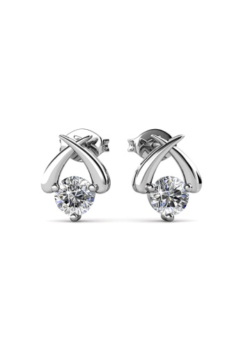 Her Jewellery silver Her Jewellery Myth Earrings with 18K Gold Plated C5D49ACECF52A6GS_1