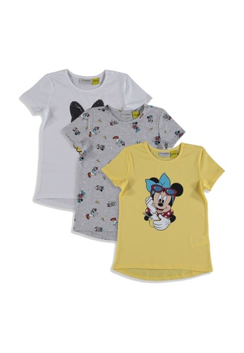 LC Waikiki white 3-Pack Minnie Mouse T-Shirts 41307KA27A640BGS_1