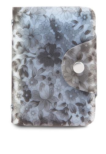 花卉印花卡片收納夾, 包,esprit tst 包