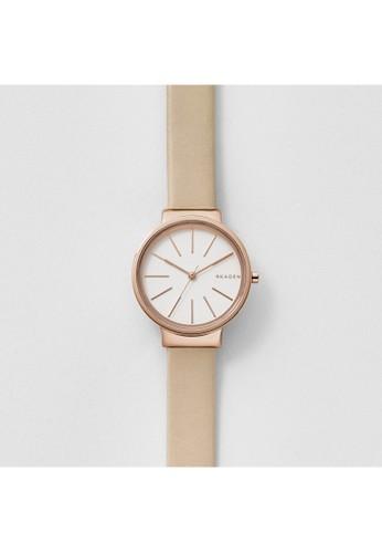Skagen ANCHER女esprit 台灣官網錶 SKW2481, 錶類, 時尚型