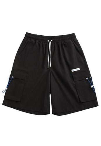 Twenty Eight Shoes black Soft Cargo Bermuda Shorts 3600S21 8545DAAAF789E0GS_1