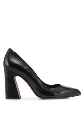 TOPSHOP black Genesis Heel Court Heels 3A88ASH27ED4FEGS_1