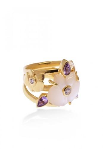 Sunaka Jewelry gold Cincin Perak Band Ring Gold Plated Koleksi Anggrek F8DECAC45A9F8CGS_1