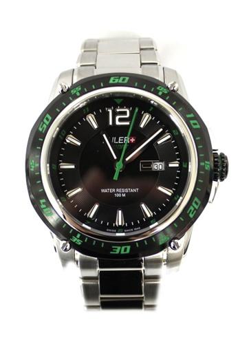 Buler black Buler Sport Watch - Black - Gents - Date - 3H BU689AC2VG12HK_1