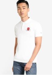 MILANO white Short Sleeve Polo Shirt MI248AA85LHAMY_1