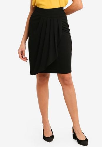 ZALORA black Wrap Skirt C8A50AAE7B8971GS_1