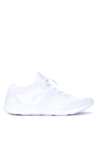 Fila white Ecstatic Lite Running Shoes 55A1ASHDEE467AGS_1