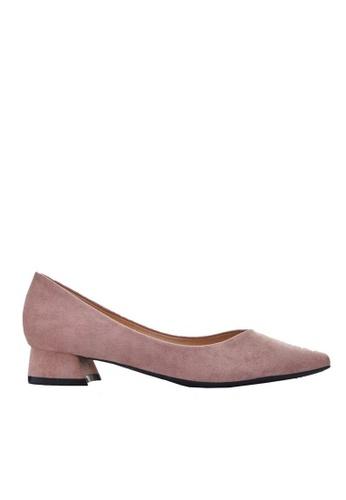 Twenty Eight Shoes pink 2.5CM Pointy Pumps 333-1 6B595SHA0D00F5GS_1