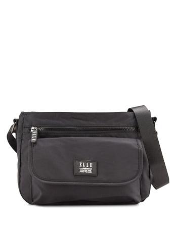 ELLE black Herene Sling Bag EL900AC24WYLMY_1