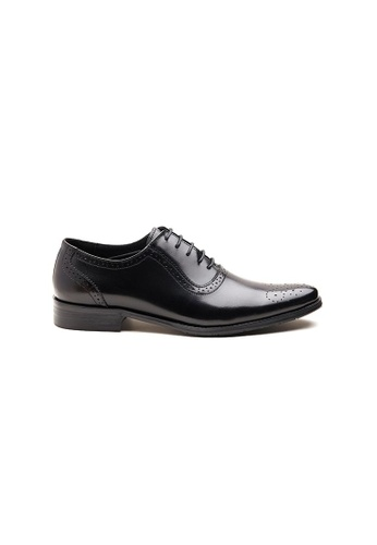 Kings Collection black Fullerton Oxford Shoes 87CA8SHE3671EDGS_1