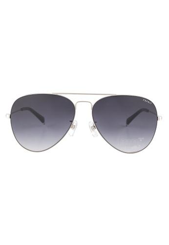 ESPRIT ESPRIT Aviator Silver Sunglasses ET13119 ES374AC60FOXMY_1