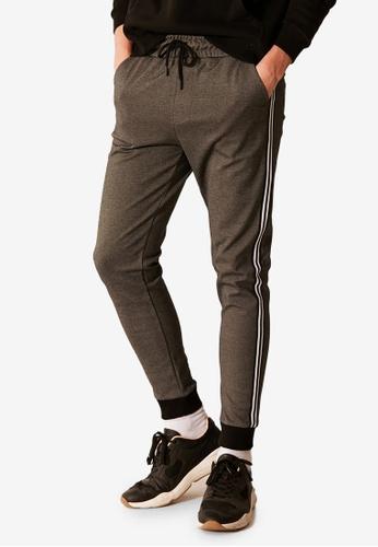 LC WAIKIKI black Slim Fit Jogger Trousers 1266EAAA632884GS_1