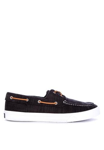 Sperry black Bahama II Baja Boat Shoes 24B47SHDC7D627GS_1