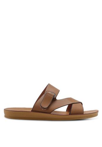 NOVENI 綠色 Strappy Sandals 581C1SH376CEDBGS_1