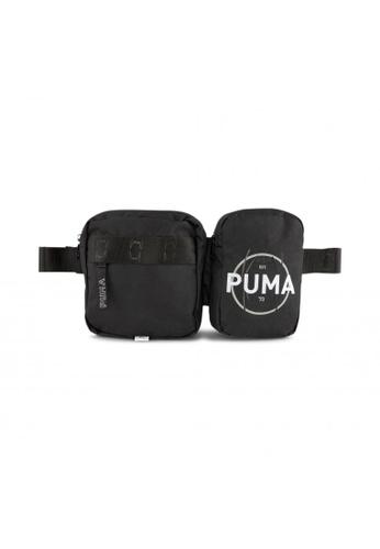 PUMA black Basketball Waist Bag A4E9CAC2AC2635GS_1