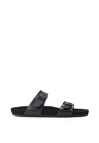 Navara black Abel Full Black EVA Sandals 48A1FSHA98886BGS_1