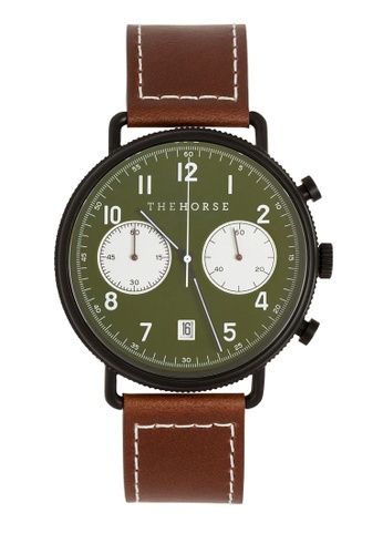 The Horse brown The Chronograph Watch 4B08DACA26197BGS_1