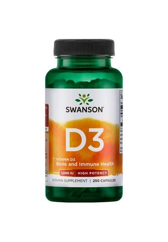Pure & Well SWANSON VIT D-3-HIGH POTENCY 1000IU (25MCG) 4365FES3BE69A8GS_1