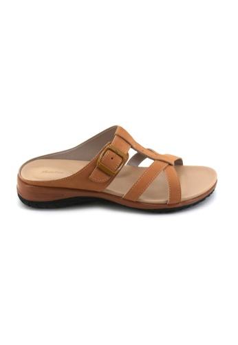 BATA Bata Women Camel Sandals - 5614662 F5A6FSH49E9FAEGS_1