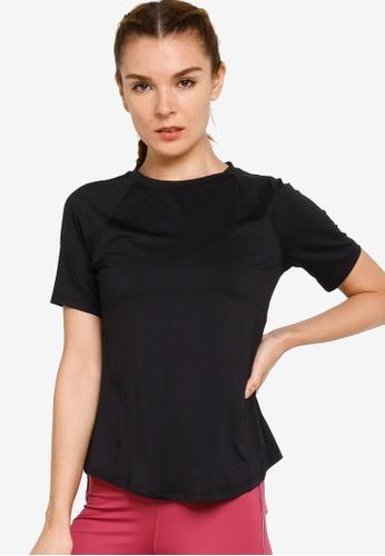 Under Armour black UA Rush Short Sleeve T-Shirt 6B492AA56B2C5AGS_1