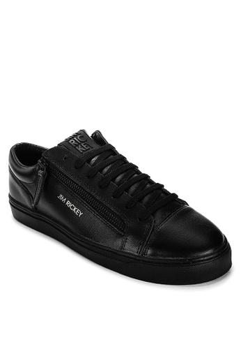 Jim Rickey black Zed Sneakers 4B1E0SHC32F542GS_1