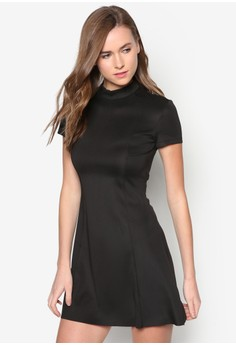 Collection Roll Neck Dress
