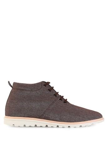 Dr. Kevin brown Boots Shoes 1042 Coklat Leather DR982SH11UEMID_1