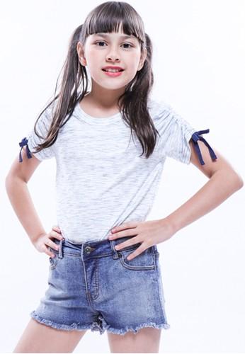 EXIT GIRL blue Saffa Shirt BABEAKAFDC5B78GS_1