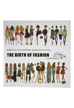 Coloring Book Anti StressThe Birth of Fashion