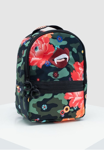 7035995735 Puma Select black and multi PUMA x SUE TSAI Backpack 23577AC67628B9GS 1