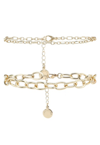 Forever New gold Helene Chain Bracelet AEEF9ACC875CB5GS_1