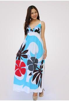 Balibo Long Dress Floral