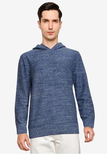 Gap blue Pullover Hoodie 52ACFAA929F9FFGS_1
