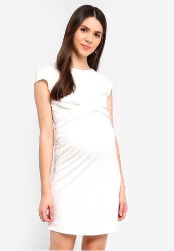 Envie De Fraise white Maternity Audrey Dress 49110AA24866D3GS_1
