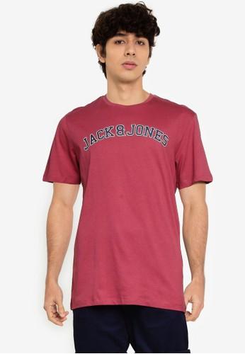 Jack & Jones pink Choll Short Sleeves Tee AD6D6AA03D3AABGS_1