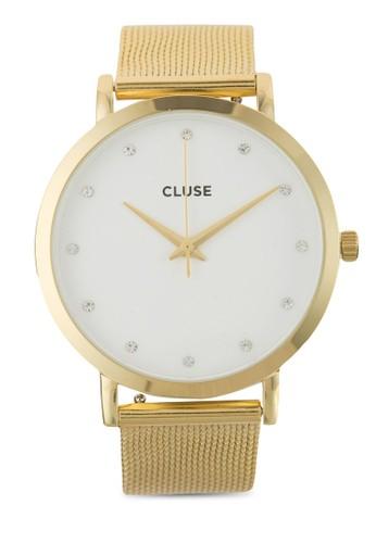 Pavane 不銹鋼網眼錶帶手錶,esprit taiwan 錶類, 飾品配件