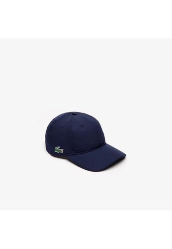 Lacoste blue Lacoste Men's SPORT Taffeta Cap E1BEFAC3108246GS_1