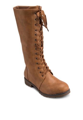 繫帶高筒靴, esprit 特賣女鞋, 靴子