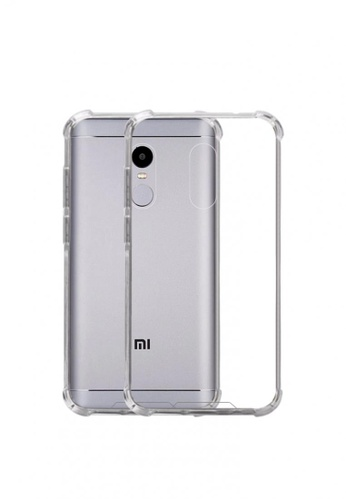 newest 02313 b193d German Import Shockproof Silicone Clear Case For Xiaomi Redmi Note 4X