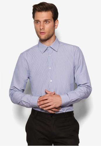 細條紋esprit taiwan長袖襯衫, 服飾, 服飾